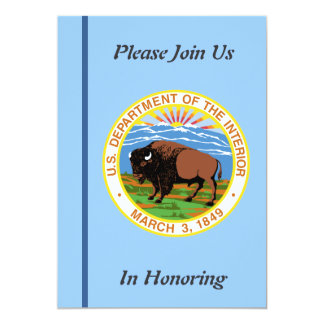 Department of the Interior Retirement Invitation