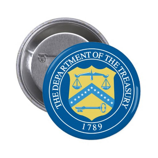 Department of the Treasury Buttons