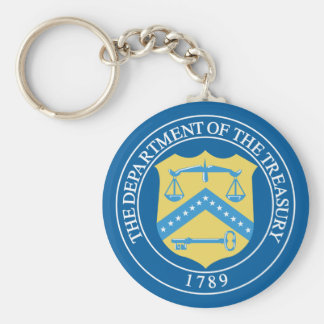 Department of the Treasury Keychain