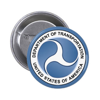 Department of Transportation 2 Inch Round Button