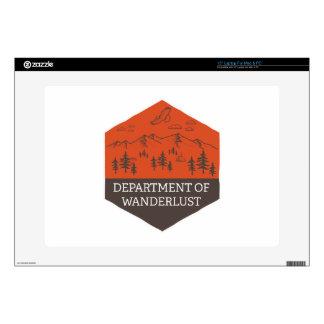 Department of Wanderlust Skins For Laptops