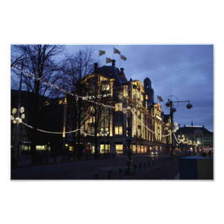 Department store in Amsterdam Photograph