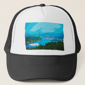 Departure Bay in Nanaimo, BC Trucker Hat