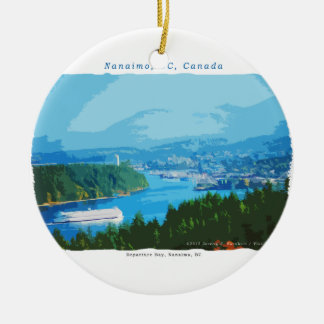 Departure Bay, Nanaimo, BC Ceramic Ornament