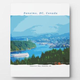 Departure Bay, Nanaimo, BC Plaque
