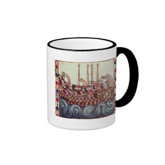 Departure of a Boat for the Crusades, Mugs