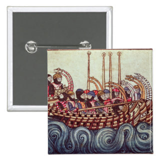 Departure of a Boat for the Crusades, Pinback Button