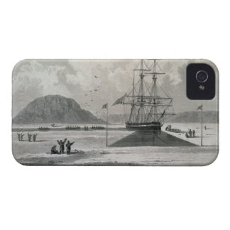 Departure of the boats from Hecla Cove, June 21, 1 iPhone 4 Covers