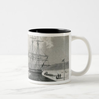 Departure of the boats from Hecla Cove, June 21, 1 Mugs