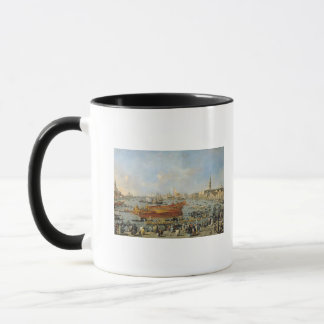 Departure of the 'Bucentaur' for the Lido Mug