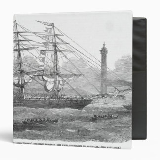 Departure of The Lizzie Webber 3 Ring Binder