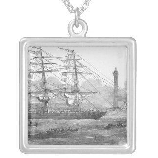 Departure of 'The Lizzie Webber' Silver Plated Necklace