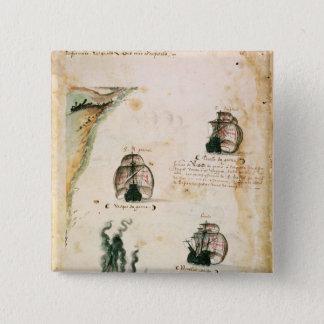 Departure of Vasco da Gama Button