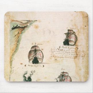 Departure of Vasco da Gama Mouse Pads