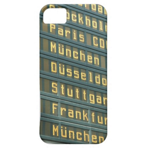 Departures and Arrivals iPhone 5 Case