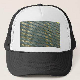 Departures and Arrivals Trucker Hat