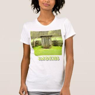 Dependencia ahumada de las montañas camiseta