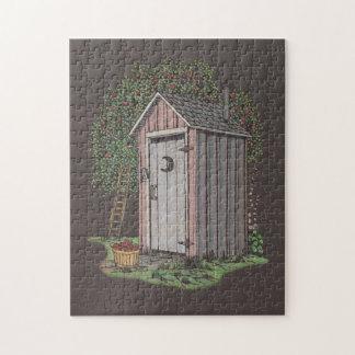 Dependencia del manzanar puzzle con fotos