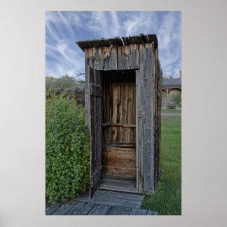 Dependencia del pueblo fantasma - Montana Póster