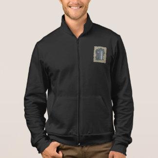 Dependencia del vintage chaquetas imprimidas