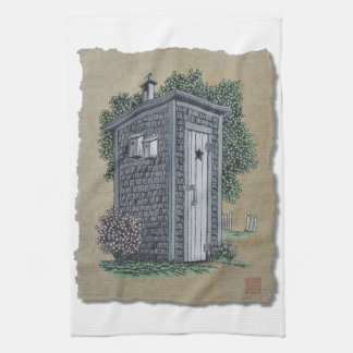 Dependencia del vintage toalla de cocina
