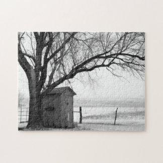 Dependencia en rompecabezas del invierno