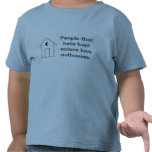 Dependencia reservada camisetas