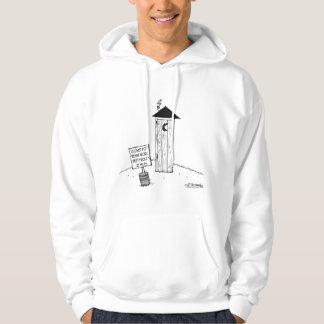 Dependencia siguiente 22 millas            de suéter con capucha