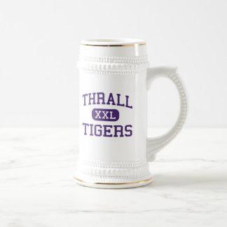 Dependencia - tigres - mayor - dependencia Tejas Jarra De Cerveza