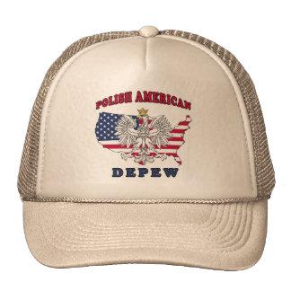 Depew New York Polish Trucker Hat
