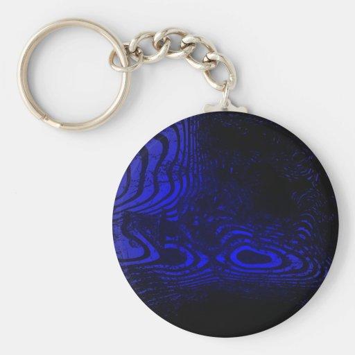 Dephts Basic Round Button Keychain