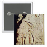 Depicting Amenophis IV, Nefertiti and Daughter Button