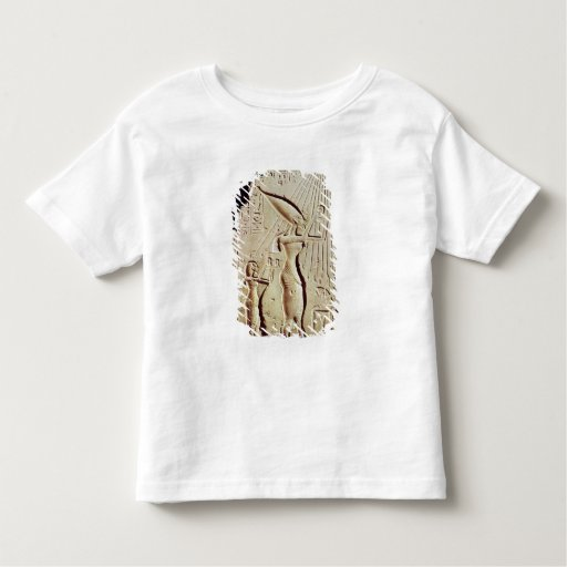 Depicting Amenophis IV, Nefertiti and Daughter Toddler T-shirt
