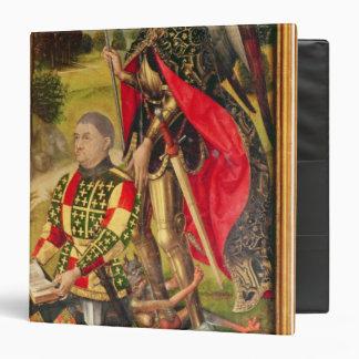Depicting  donor of  altarpiece, Michel de Binder