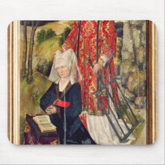 Depicting Laure de Jaucourt Mousepad
