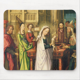 Depiction of Christ in the Temple, 1500 Mouse Pad