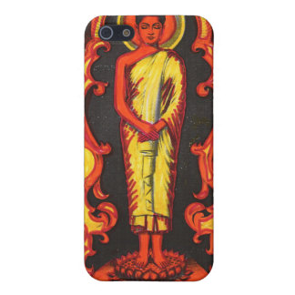 Depiction of Standing Buddha Cases For iPhone 5