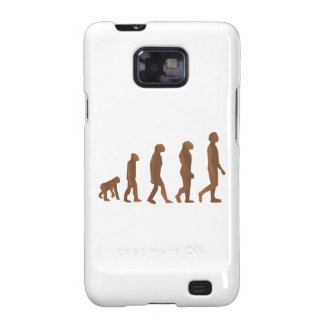 Depiction of the Evolution of Man Galaxy S2 Cases