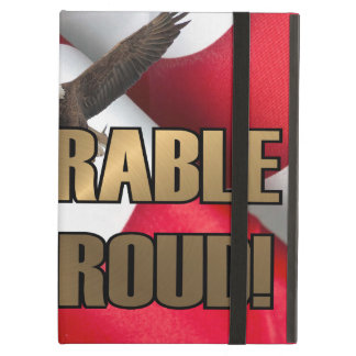 DEPLORABLE AND PROUD iPad AIR CASE