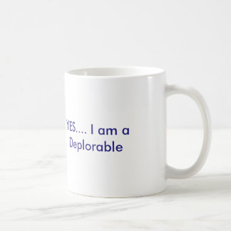 Deplorable Coffee Mug