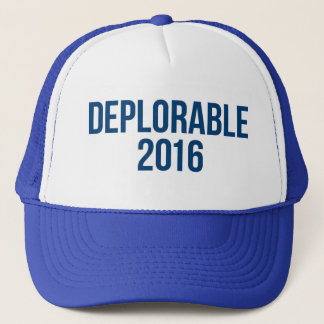 Deplorable - Donald Trump - Republican Trucker Hat