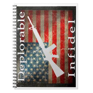Deplorable Infidel Notebook