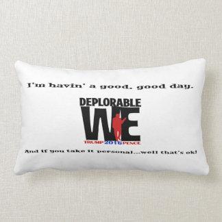 Deplorable We Lumbar Pillow