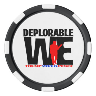 Deplorable We poker chips