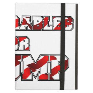 DEPLORABLES FOR TRUMP iPad AIR COVER
