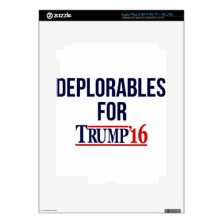 Deplorables for Trump Skin For iPad 3