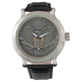 deploribus (deplorables) unum wristwatch