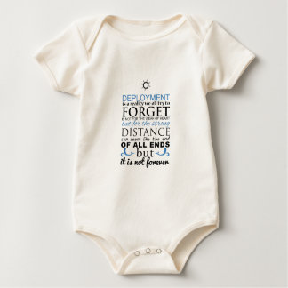 Deployment Is Not Forever Baby Bodysuit