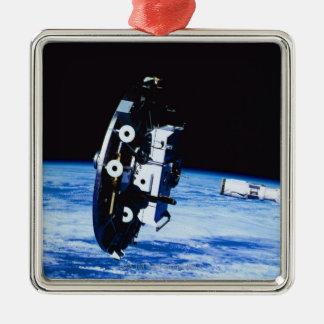 Deployment of a Satellite Metal Ornament