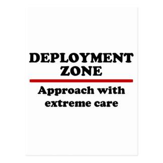Deployment Zone Postcard